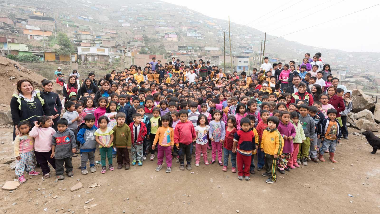 Arbeitende Kinder in Peru