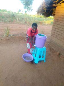 Spendenaufruf Masken Malawi