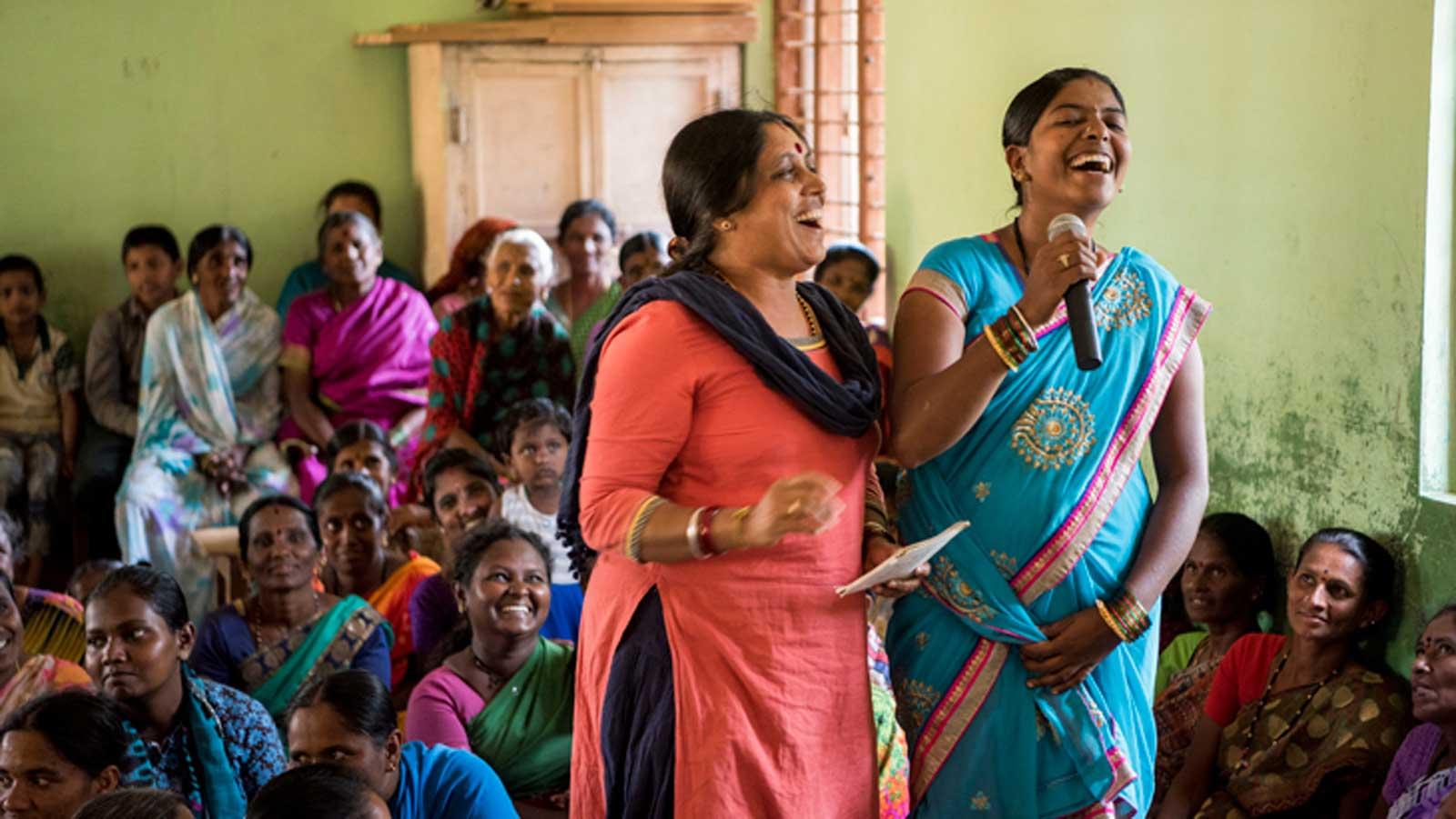 Gemeinsam gegen Gewalt an Frauen – Projekt Sieds in Indien