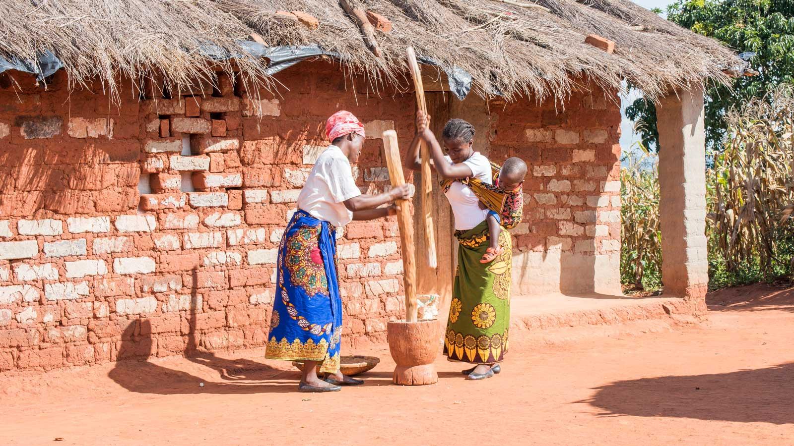 Malawi-Permakultur-Schulgarten
