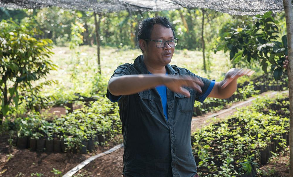 Neben der Existenzsicherung ist der Biolandbau auch ein Weg zum Frieden.