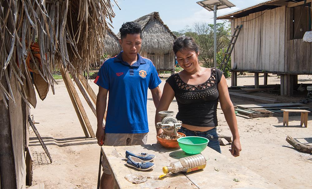 Indigene Jugendliche – Peru