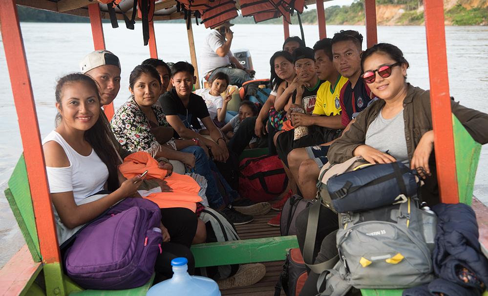 Indigene Jugendliche Studienweg