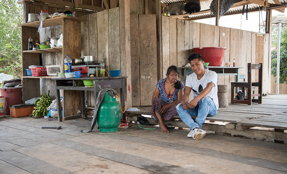 Indigene Dorfgemeinschaft – Kleinbäuerin